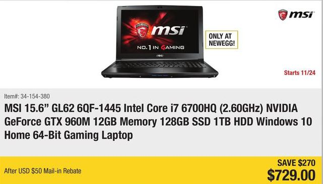 2016-cyber-monday-laptop-newegg