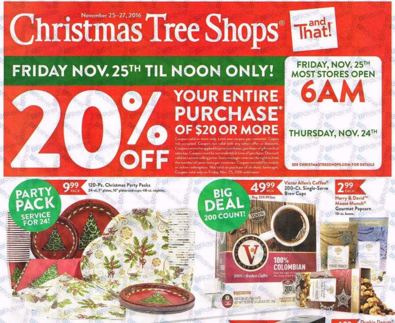 christmas tree shop black friday hours faqs - Black Friday Deals On Christmas Trees