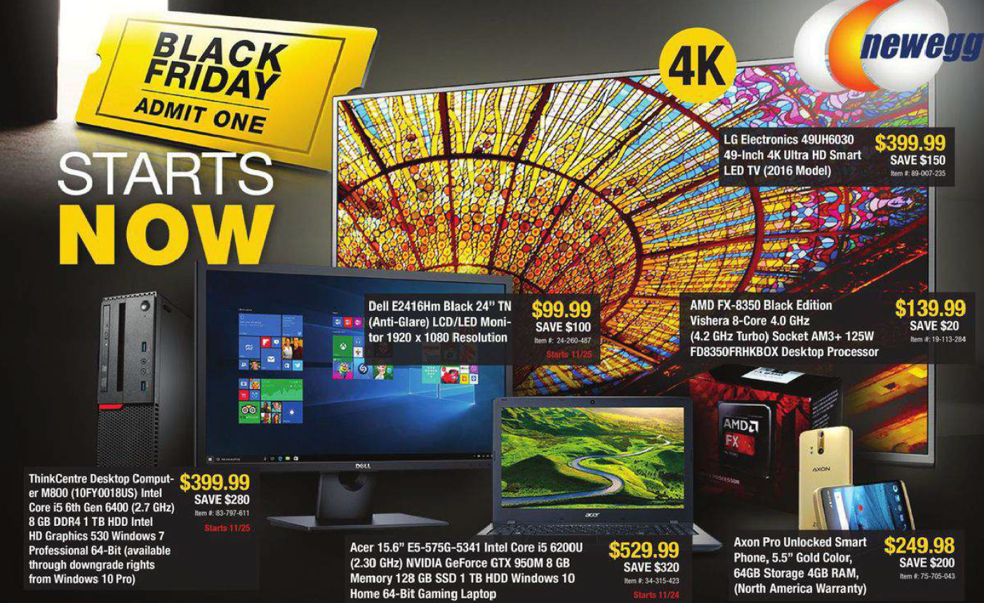 newegg-black-friday-ad-leak-deals