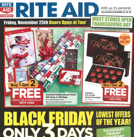 Health And Beauty Aids: Rite Aid Black Friday Deals
