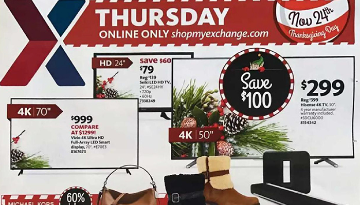 Army exchange black friday deals