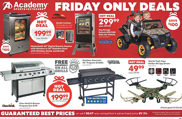 Academy Sports Outdoors Black Friday Deals Full Ad Scan Gazette Review