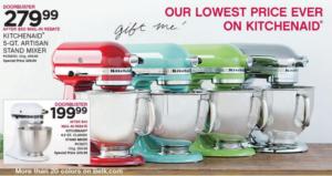 Belk Kitchenaid Mixer