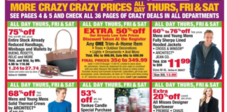 Some of Boscov's Black Friday deals