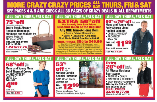 Boscov's Black Friday Deals 2016 - Full Ad Scan - The Gazette Review