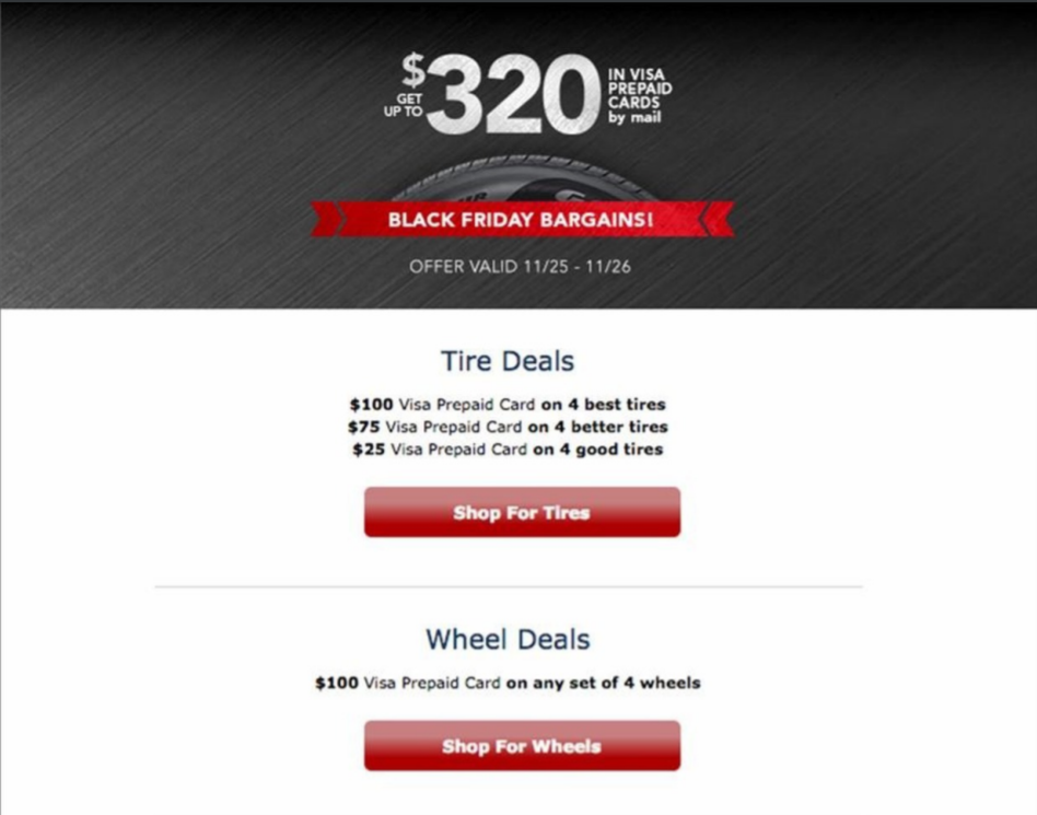 Discount Tire Black Friday Deals Full Ad Scan Gazette Review