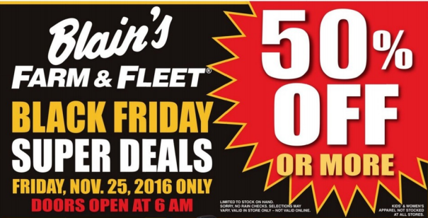 Blain s farm fleet black friday deals full ad scan for Black friday fishing deals