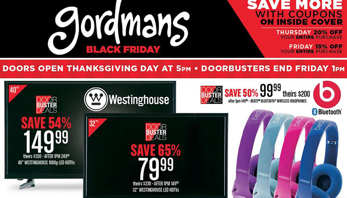 Gordmans Black Friday Deals Full Ad Scan