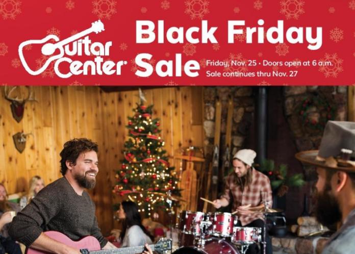 guitar center black friday deals full ad scan gazette review. Black Bedroom Furniture Sets. Home Design Ideas
