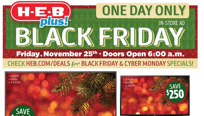 Heb Hours Christmas Eve.H E B Plus Black Friday Deals Full Ad Scan Gazette Review