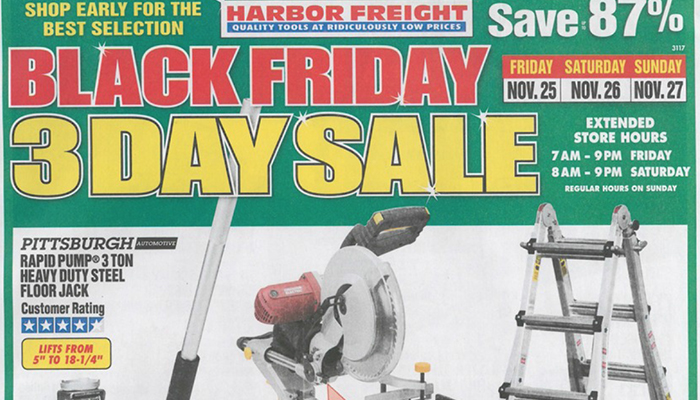 Harbor freight black friday deals full ad scan gazette review founded keyboard keysfo Images