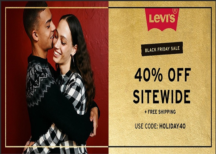 Levis Black Friday Sale. Get an Extra 40% Off Sitewide with coupon turcoja.gq 11/ Shipping is free (Ends 11/26). Exclusions may apply. Levis Pre Black Friday Deals. Levis Black Friday Deals are NOT live yet. Following are our latest handpicked Levis deals.