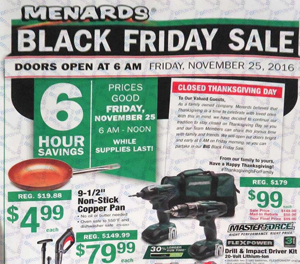 menards-2016-black-friday-leaked-ad-scans  sc 1 st  Gazette Review & Menards Black Friday Deals \u2013 Full Ad Scan - Gazette Review