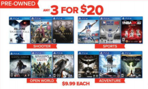 preowned-ps4-games-gamestop-black-friday