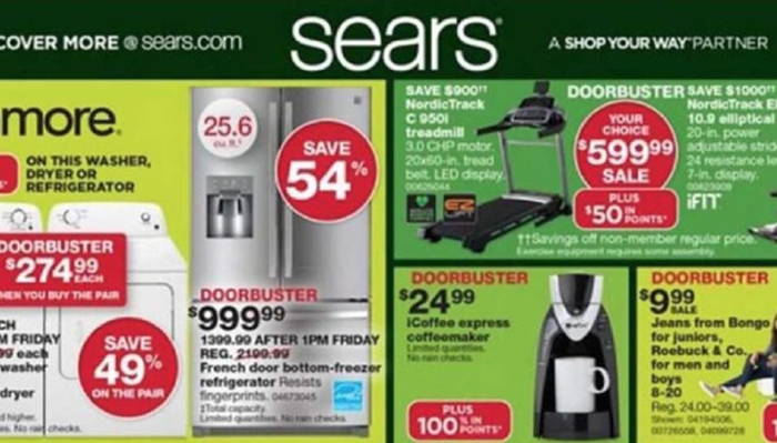 Sears Black Friday Deals Full Ad Scan The Gazette Review