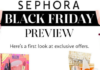 Sephora Black Friday ad leak scan for 2016