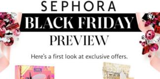 Sephora Black Friday ad leak scan for 2016