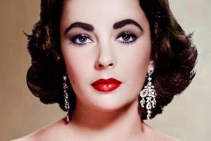 Elizabeth Taylor, stunning at her peak.