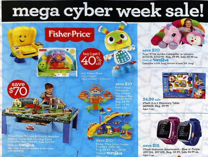 Toys R Us Cyber Monday Deals and Offers