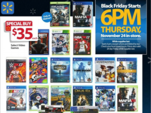 All the Black Friday Walmart Video Game Deals Going Live ...