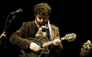 A still from a performance by Declan O'Rourke.