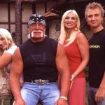The Hulk with first wife Linda, and Brooke and Nick.