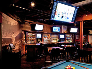 Angels Sports Bar after the renovations