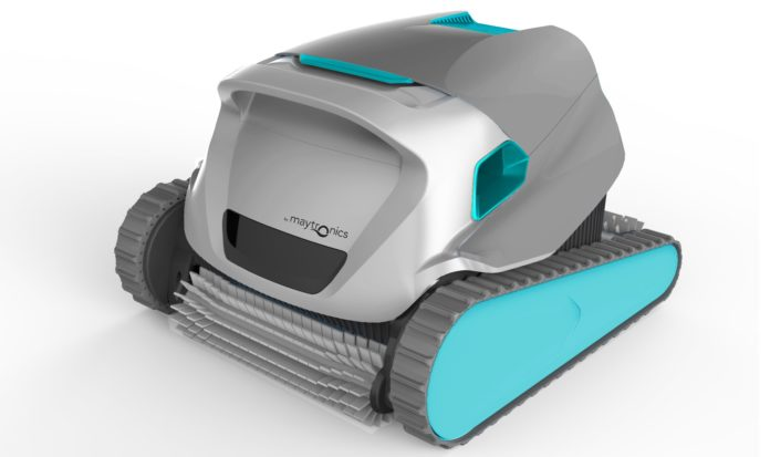 Maytronic dolphin active 30 robotic pool cleaner review for Pool cleaner reviews 2013