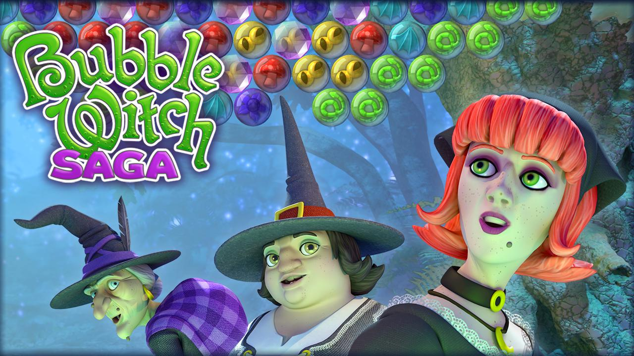 top five games like bubble witch saga gazette review. Black Bedroom Furniture Sets. Home Design Ideas