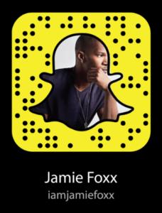 jamie-foxx-snapchat-username-code
