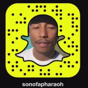 pharell-williams-snapchat-username-code