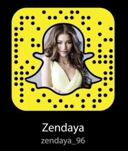 zendaya-snapchat-username