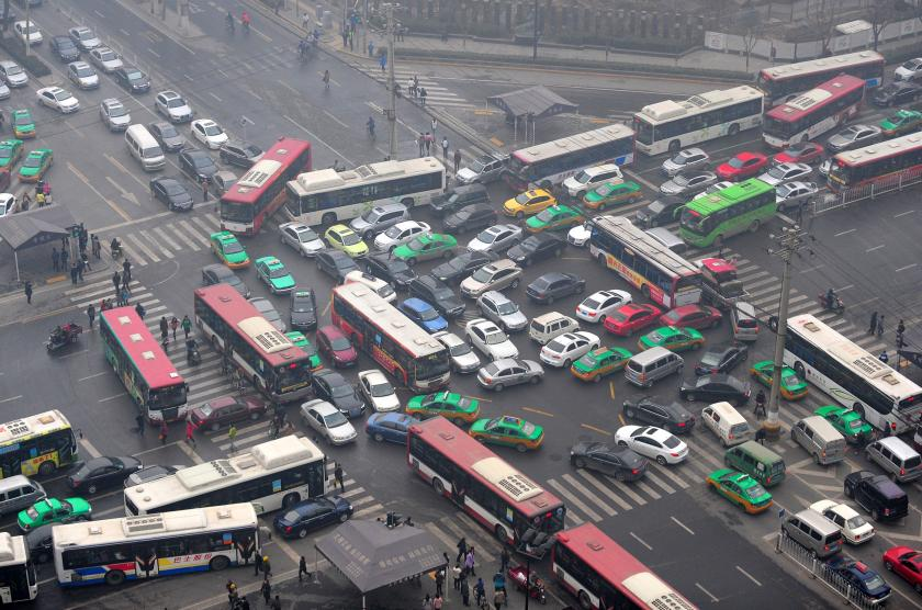 Worst Cities in World for Traffic Congestion