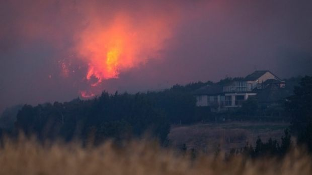 New Zealand firefighters halt advance of wildfire on city homes in Christchurch