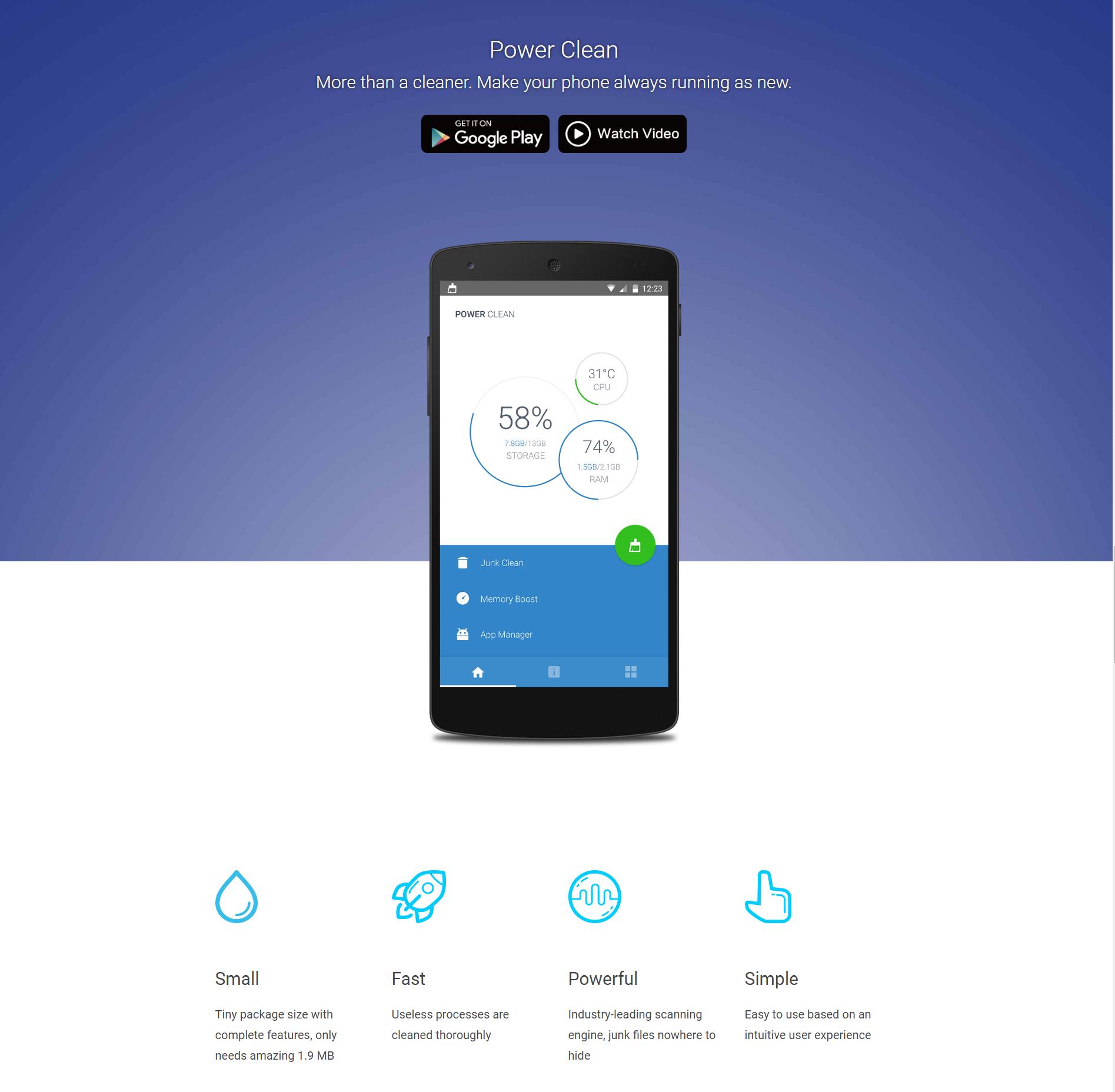 Power Clean - Optimize Cleaner App Review - Gazette Review
