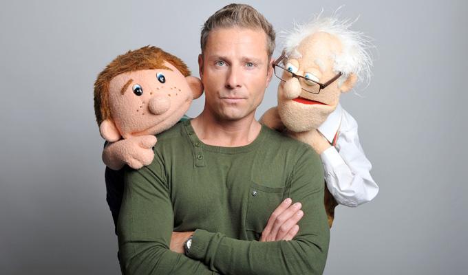 Zerdin ventriloquist without a dummy