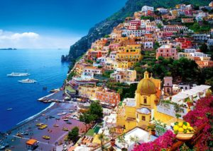 Italy Is A Land Of Beauty And The Amalfi Coast One Its Crown Jewels 50 Kilometer 31 Miles Stretch Southern Italian Coastline Shining