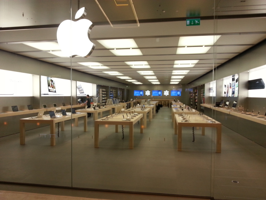 Apple Store Fashion Valley Location