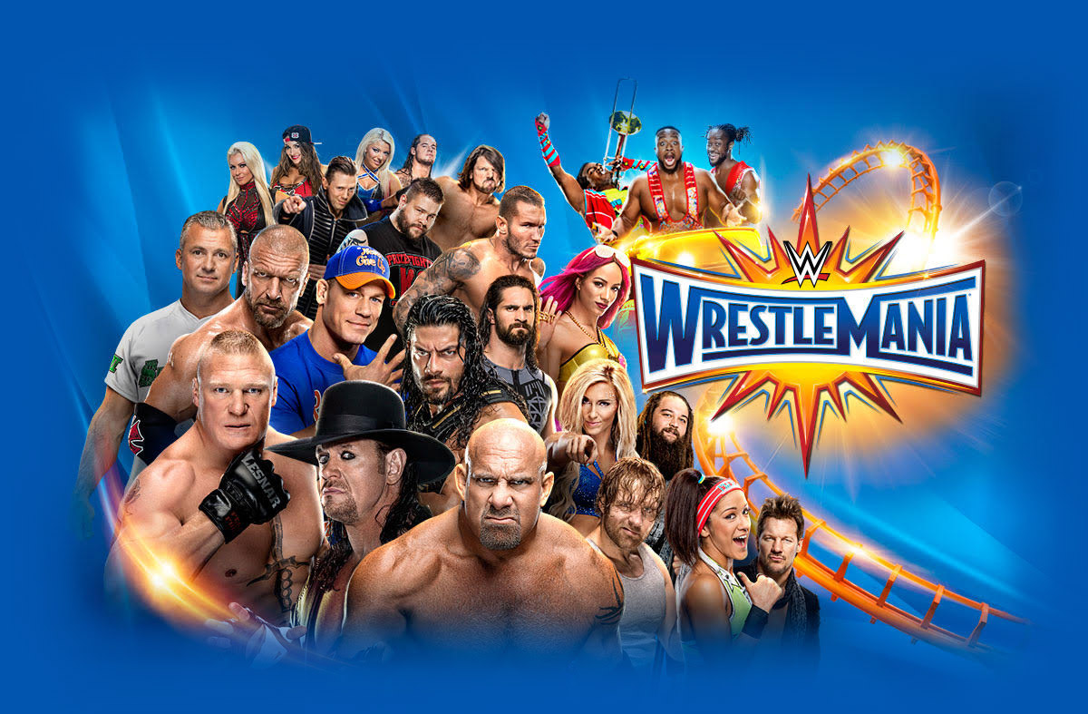 Wwe Wrestlemania 33 Full Match Card And Start Time The