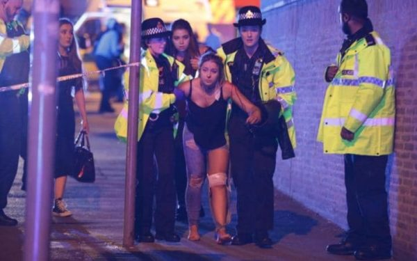 19 killed, 50 injured in blast at pop concert in UK