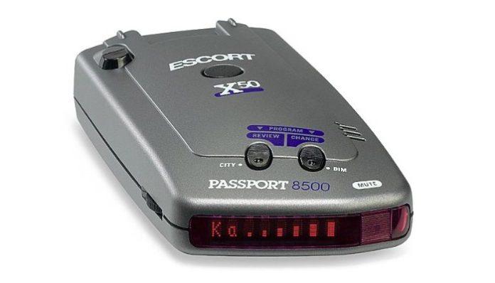 escort passport 8500 x50 radar detector review 2017 update the gazette review. Black Bedroom Furniture Sets. Home Design Ideas
