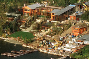 bill gates is the richest man in the world with a staggering net worth of 877 billion its no surprise his residence is one of the largest in the world