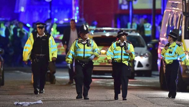 London Bridge terror investigation sees three men arrested in Ilford