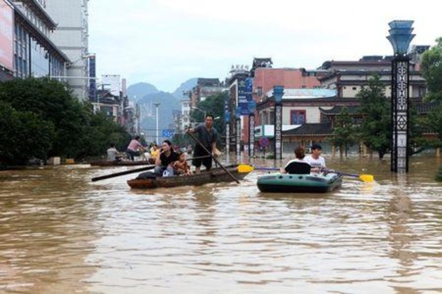 At Least 56 Dead, 22 Missing in Devastating China Floods