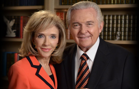 Jack Van Impe with gracious, Wife Rexella Mae Shelton