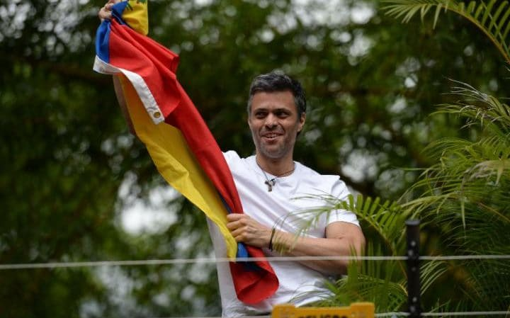 Venezuela's Leopoldo Lopez released from prison to house arrest
