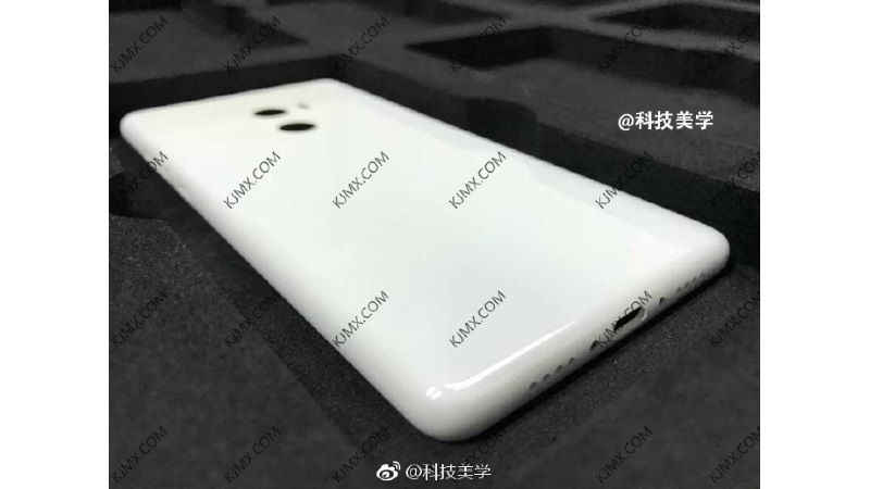 Xiaomi Mi Mix 2 Photo Leaks Online, Shows Slim Bezels