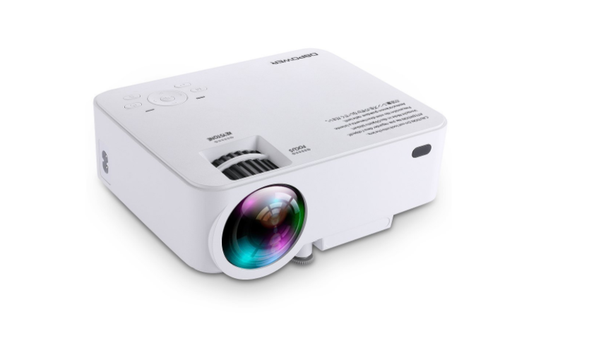 Dbpower t20 mini projector review gazette review for Mini pocket projector reviews