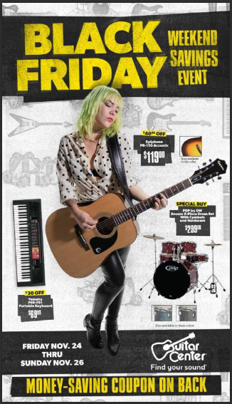 guitar center black friday deals 2018 view full ad scan