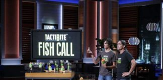 TactiBite Fish Call on Shark Tank